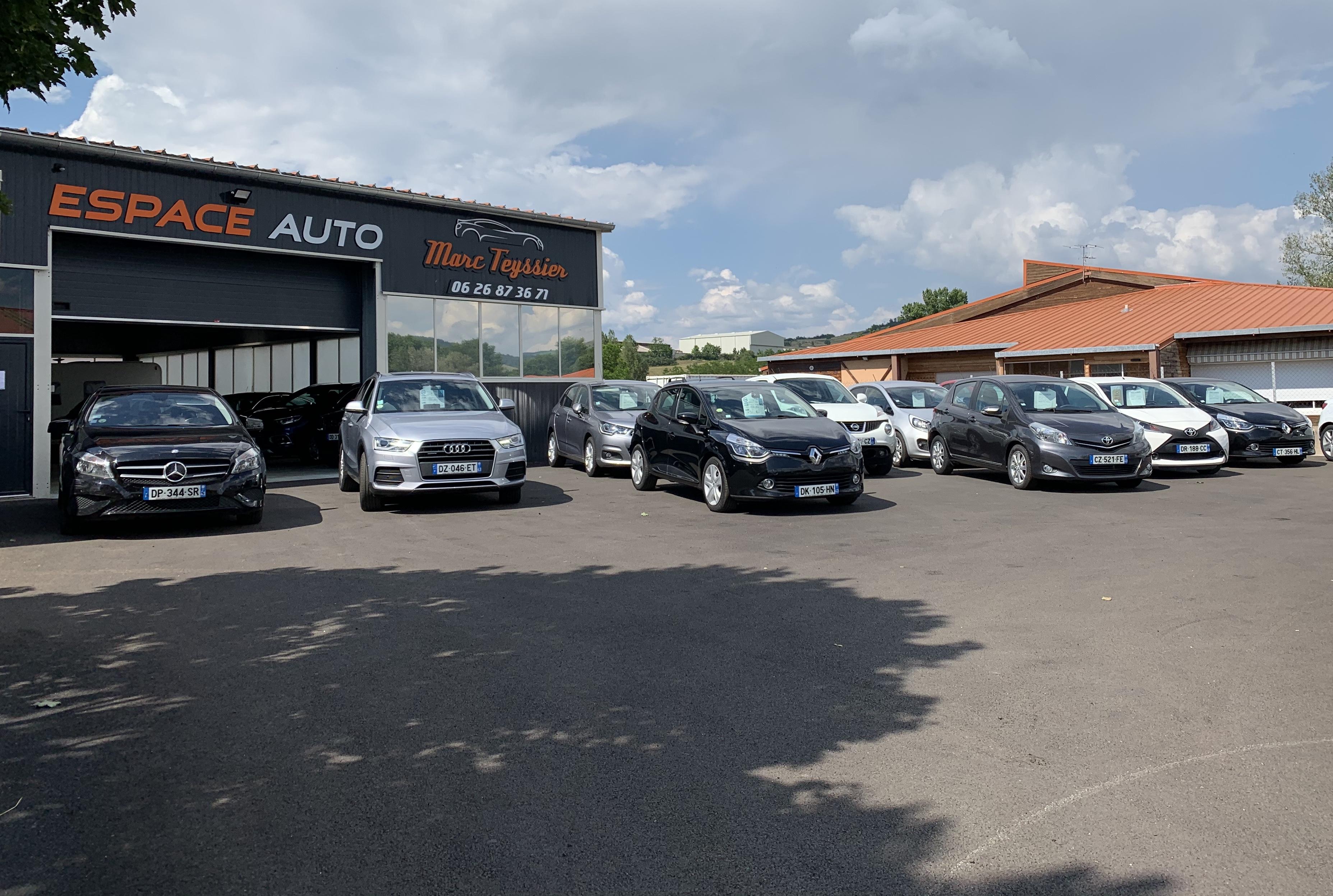 ESPACE AUTO GARAGE TEYSSIER - Vente de véhicules neufs et occasions récentes à Langeac (43)